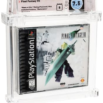 A Sealed Copy of Final Fantasy VII is Up for Sale on Heritage Auctions