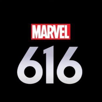 Logo for Marvel's 616 (Image: Disney+)