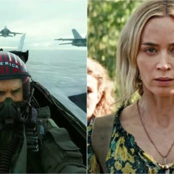 Top Gun 2 Maverick and A Quiet Place 2 have both been delayed (Images: Paramount)