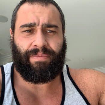 Former WWE Star Rusev Confirms He Has COVID-19 (Screencap)