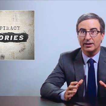 Last Week Tonight Host John Oliver Tackles Conspiracy Theory Culture