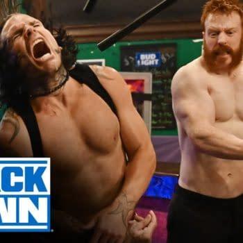 WWE Smackdown 7/24/2020 Part 3 - Bar Fight Production a Drunken Mess