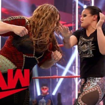 Nia Jax and Shayna Baszler brawl: Raw, July 27, 2020