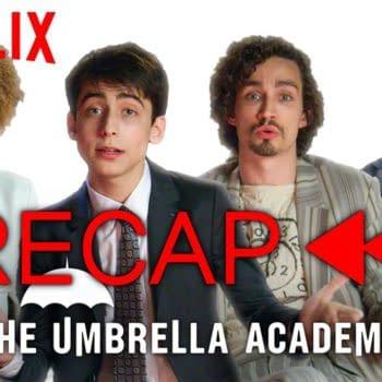 The Umbrella Academy Cast Offers Handy-Dandy Season 1 Recap (Image: Netflix)