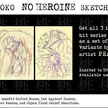 Peach Momoko No Heroine Sketch Variant Sets for Charity