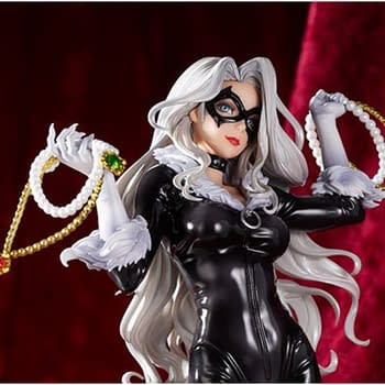 Black Cat Steals Our Hearts With New Marvel Kotobukiya Statue