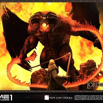 Gandalf Takes on the Balrog in New LOTR Prime 1 Studio Statue