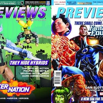 Next Weeks Previews Covers: AlterNation and Fantastic Four #25