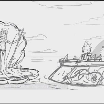 Rick and Morty panel (Image: Adult Swim)