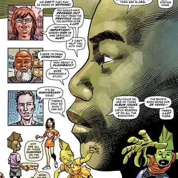 Savage Dragon #250 &#8211 An Anniversary Issue Spent in Lockdown