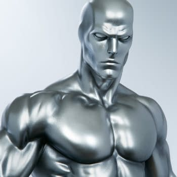 Silver Surfer Enters The Cosmos with Sideshow Collectibles