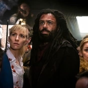 A look at the final two first-season episodes of Snowpiercer (Image: TNT)
