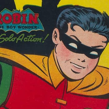 Dick Graysons First Robin Solo Series from 1947