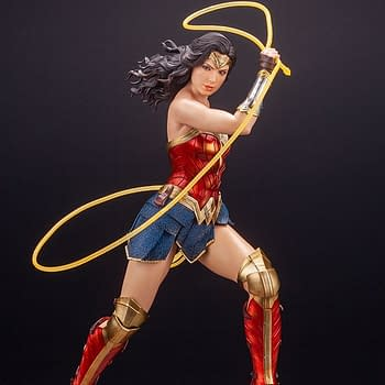 Wonder Woman 1984 Cracks Her Whip With New Kotobukiya Statue