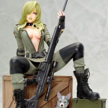 Metal Gear Solid Sniper Wolf Takes Aim with Kotobukiya