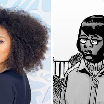 Margot Bingham is joining The Walking Dead (Image: Skybound)