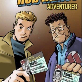 Randy Reynaldo Launches Rob Haynes #21 For Comic-Con@Home