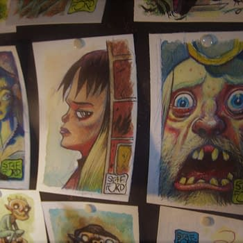 50 New Original Paintings by Mark Stafford as Bad Bad Place Bonuses