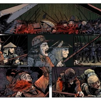 The Devil's Red Bride - a New Samurai Grindhouse Comic