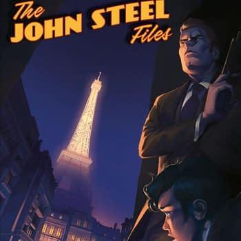 Rebellion Brings British 60s Secret Agent John Steel Back Into Print