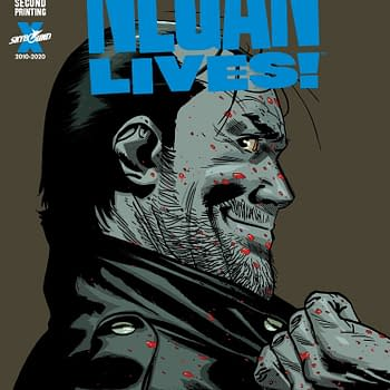 Image Reprints Negan Lives as Fire Power Burns Through 150000 Copies