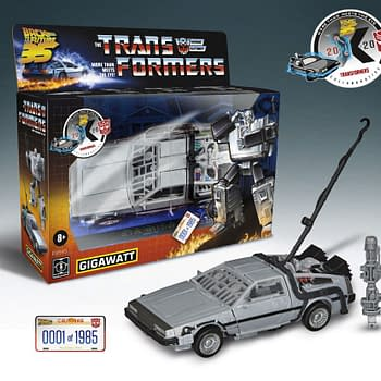 Transformers X  Back to the Future Gigawatt Autobot Hasbro Reveal