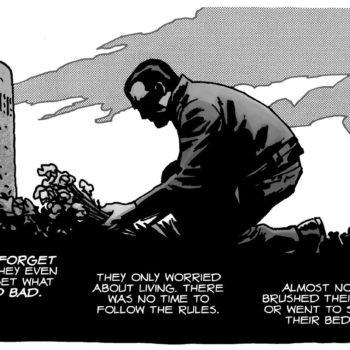 How Charlie Adlard Saved Negan's Life in The Walking Dead