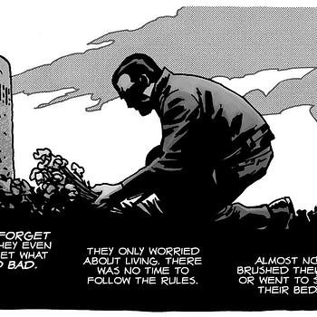 How Charlie Adlard Saved Negans Life in The Walking Dead
