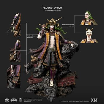Joker Gains the Power of Mythical Orochi with New XM Studios statue