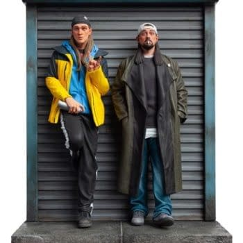 Jay and Silent Bob Return with New Level52 Studios Statue