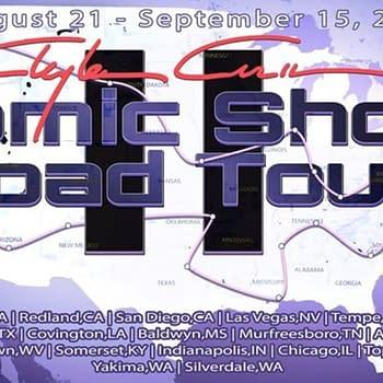 Clayton Crains Comic Shop Tour &#8211 The Daily LITG 21st August 2020