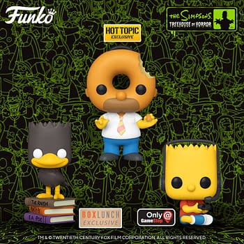 Simpsons Treehouse of Horror Returns with New Funko Pops