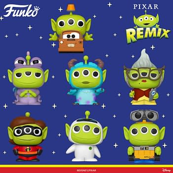 Funko Announces New Wave of Toy Story Pixar Alien Remix Pops