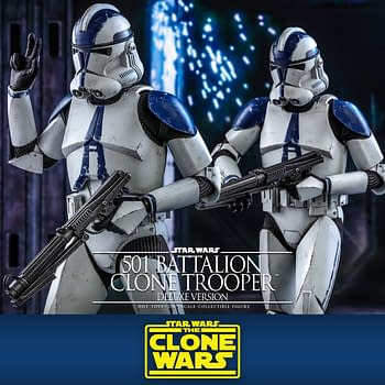 Star Wars 501st Clone Trooper Deploys with Hot Toys