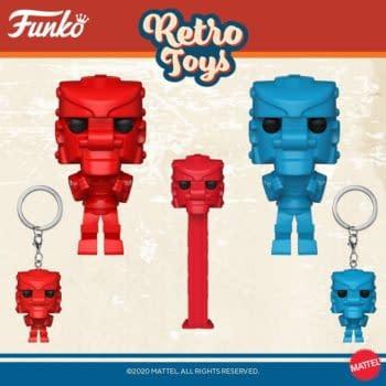 Funko Unveils Second Wave of Retro Toys Pop Vinyls