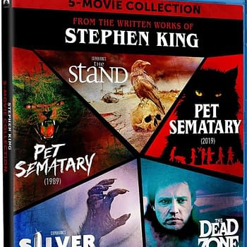 Five Stephen King Films Get Blu-ray Box Set This September