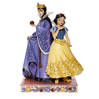 New Disney Statues Show Off Good and Evil Princesses with Enesco