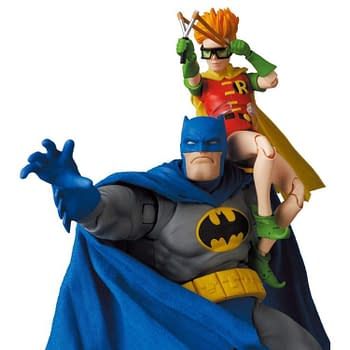 The Dark Knight Returns Batman and Robin Come to MAFEX