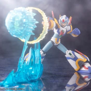 Mega Man X with Force Armor Gets New Model from Kotobukiya