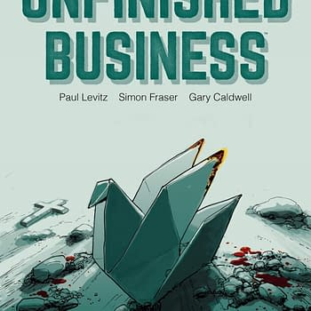 Paul Levitz Graphic Novel Unfinished Business Rescheduled For April