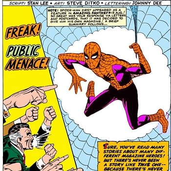 Steve Ditko Designed Spider-Man to be Orange and Purple