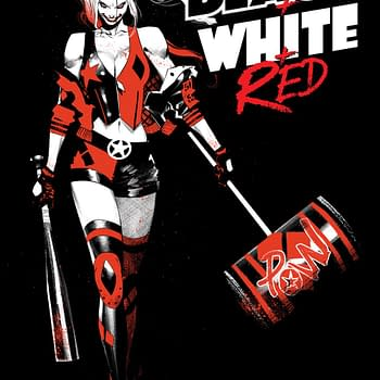 DC To Collect Harley Quinn Black White and Red in February 2021