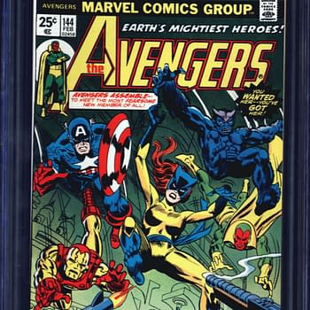 Avengers #144 First Patsy Walker Hellcat For Auction On ComicConnect