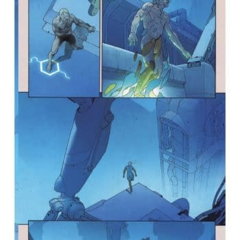 First Preview Of Esad Ribic's Art In The Eternals #1 For December