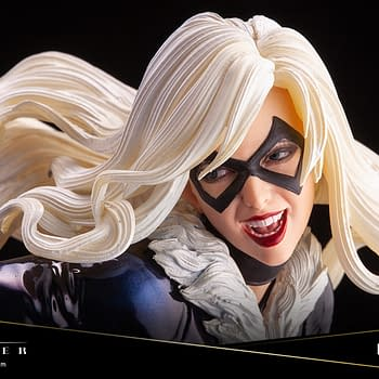 Black Cat Joins Kotobukiyas Woman of Marvel Statue Series