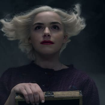 A look at Chilling Adventures of Sabrina Part Four (Image: Netflix)