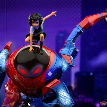 Spider-Man: Into the Spider-Verse SP//dr Arrives at Iron Studios