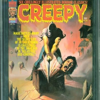 Creepy #66 Featuring Wrightson Beheading Cover At ComicConnect