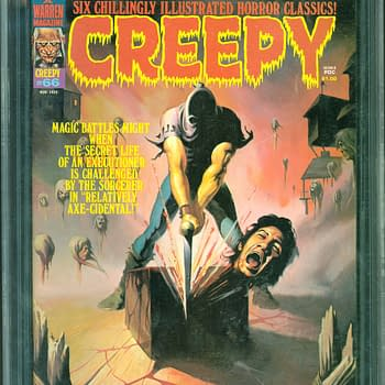 Creepy #66 Featuring Ken Kelly Beheading Cover At ComicConnect