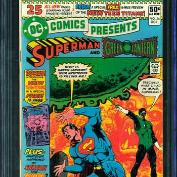 First Appearance Of The New Teen Titans On Auction On ComicConnect